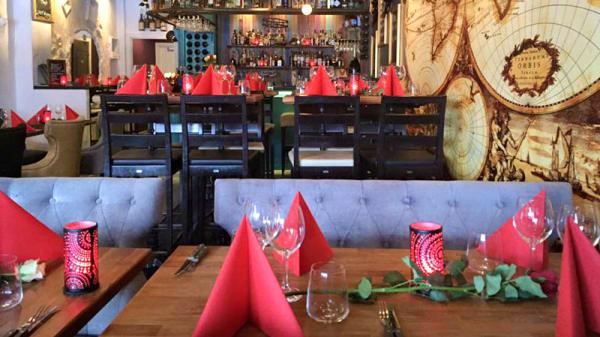 Rummets vy - Caliente Tapas bar Enköping, Enköping
