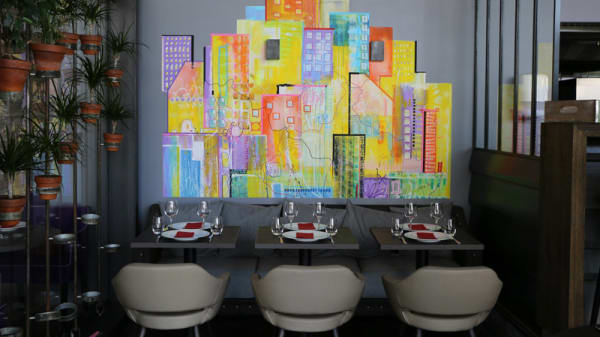Salle du restaurant - Dans la Cuisine, Paris