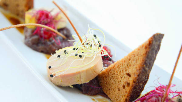 Foie gras - The View, Veysonnaz