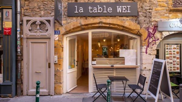 Entrée - La Table Wei, Lyon