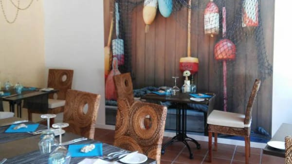 La sala - The Blue Marlin Seafood Restaurant, La Cala De Mijas