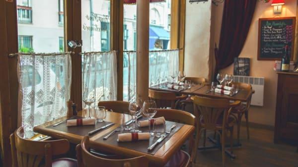 salle du restaurant - Le Petit Pontoise, Paris