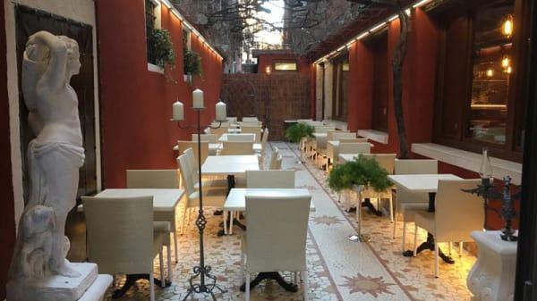 Vista sala - Ristorante Pizzeria Al Gobbo Di Rialto, Venezia