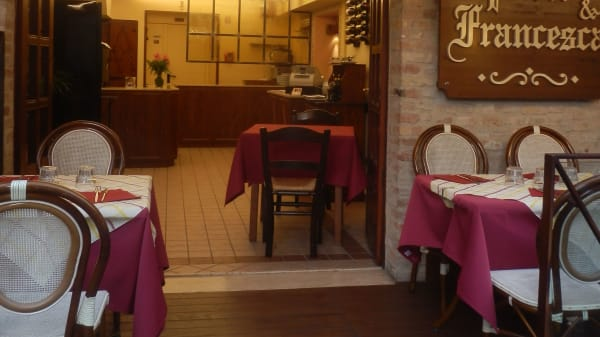 Ingresso - Tavernetta Paolo e Francesca, Gradara