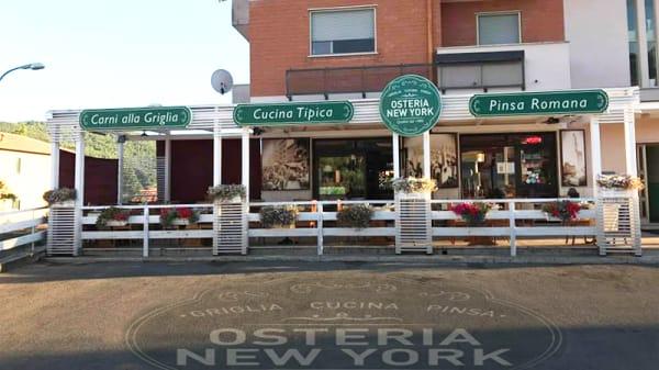 Esterno - Osteria New York, Broccostella
