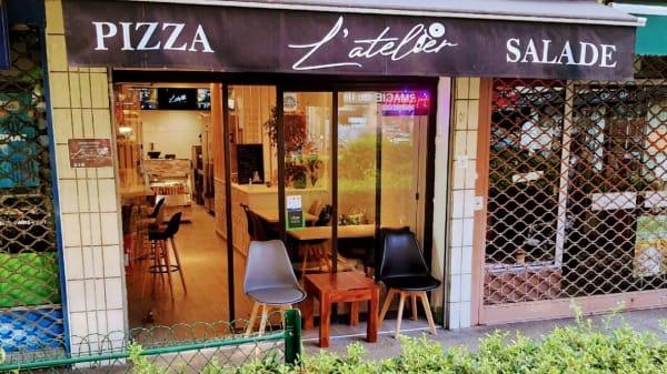 L'Atelier Pizza, Paris
