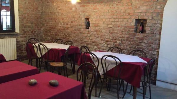 veduta dell'interno - Trattoria Il Borghetto, Zibido San Giacomo