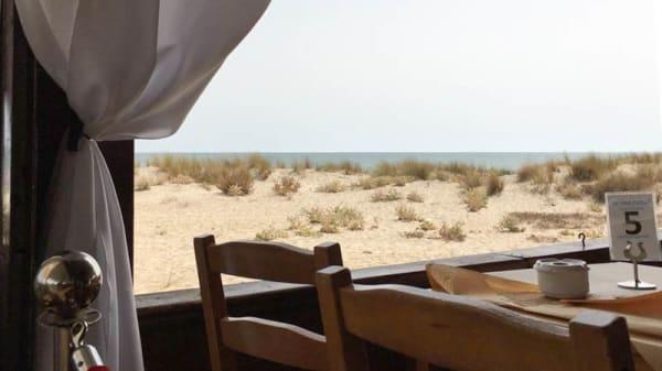 Detalle mesa - El Portugué, Isla Cristina