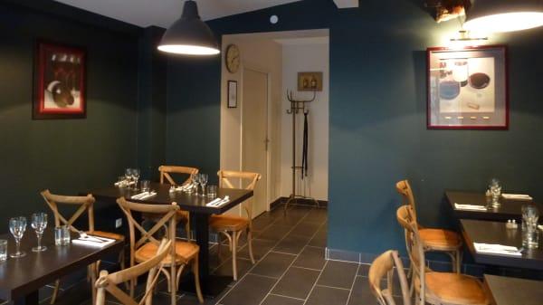 Salle du restaurant - Chez l'gros, Rouen