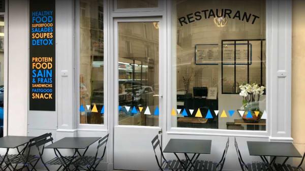 Terrasse - La Maison des Protéines, Paris