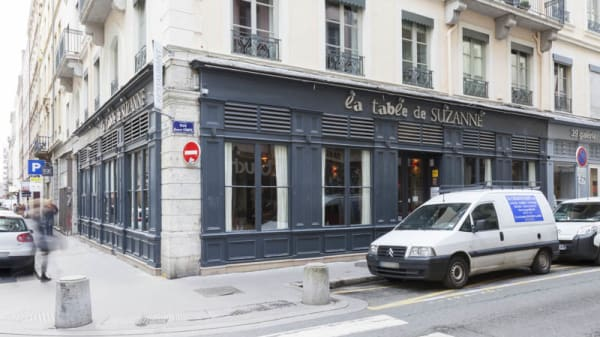 façade - La Table de Suzanne, Lyon
