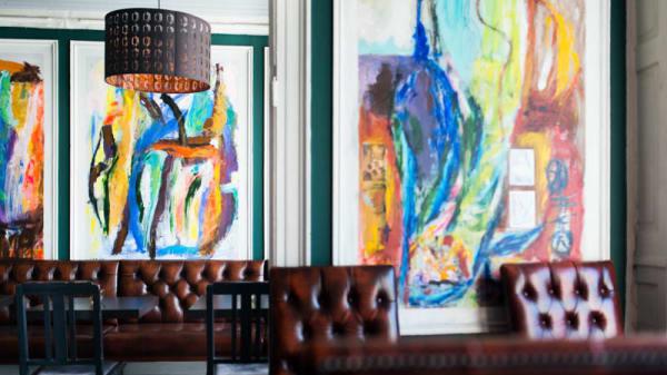 Rummets vy - Nyhavns Cafeen, København