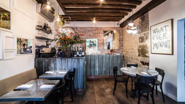 Vue de la salle - Frenchie Restaurant - Grégory Marchand, Paris