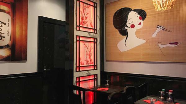 Vue de la salle - Idea Sushi, Paris