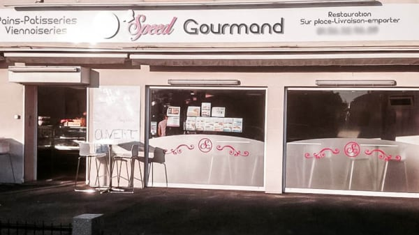 Vue devanture - Speed Gourmand, Boissy-Saint-Léger