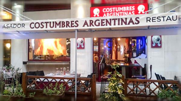Entrada - Costumbres Argentinas, Cambrils