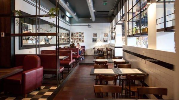 Sala del ristorante - Burbaca, Rome