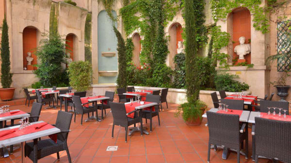 Terrasse - Grand Patio du Plaza, Toulouse
