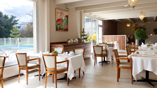 Salle du restaurant - LES 5 ELEMENTS, Sausheim
