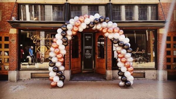 Het restaurant - Grandcafe De Oude Kijk, Groningen