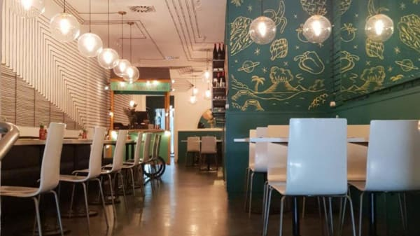 Vista sala - Viet Kitchen, Barcelona