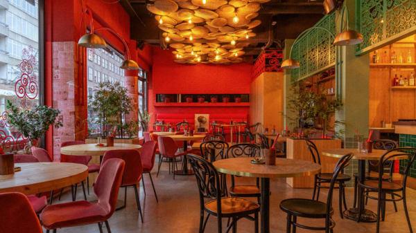 Het restaurant - Shanghai Papa, Rotterdam