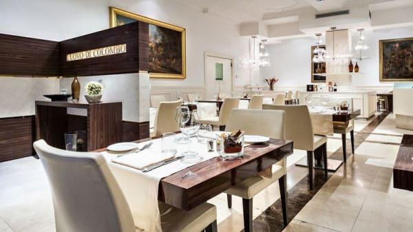 Sala del ristorante - L'Uovo di Colombo, Milano