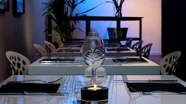 Zoom sur table - Le Volodia, Montpellier