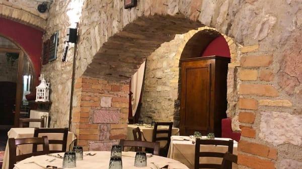 Vista sala - Locanda del Podestà, Assisi