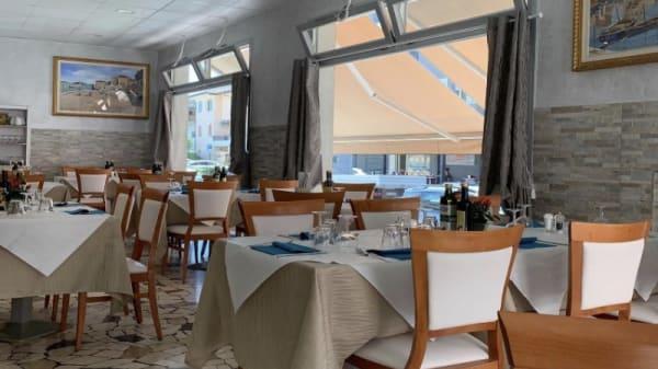 Vista sala - La spigola, Chioggia