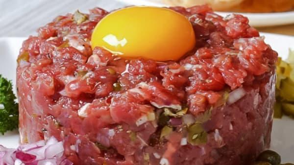 Steak tartar - Fitz Burger, Madrid