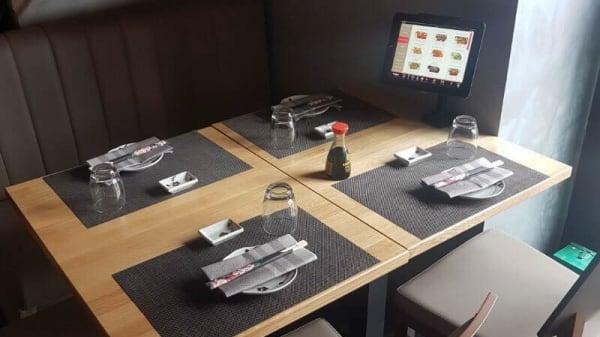 Vista sala - Chihana Sushi Restaurant, Roma