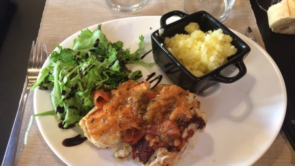 plat - O Jum's, Aix-en-Provence