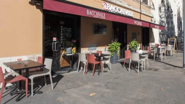 Entrata - Baccanale Ostiense, Rome