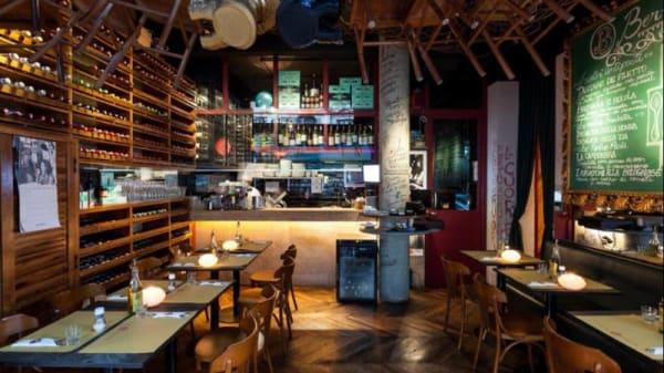 Vista da sala - Bottega Bernacca Due, São Paulo