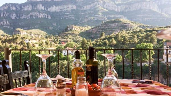 Vistas desde la ventana - Can Ibars, Monistrol De Montserrat