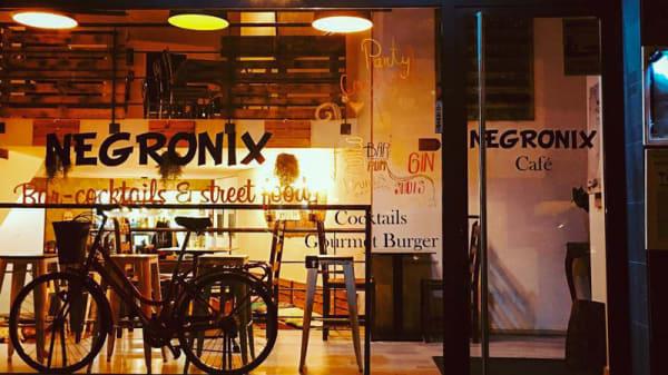Entrada - Negronix Bar Cocktails & Street Food, Barcelona