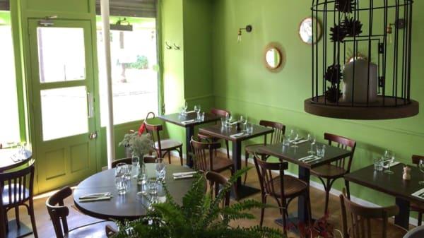 Salle du restaurant - Gabia, Paris