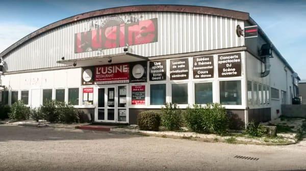Entrée - L'Usine - Bar Restaurant Concert -  Sainte Luce, Nantes