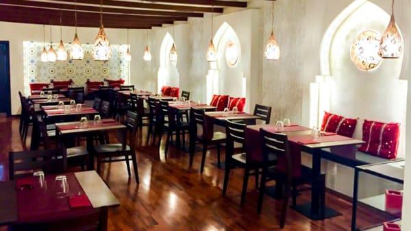 Vista del interior - Restaurant Volubilis, Barcelona