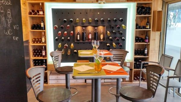 Salle du restaurant - Le Kafe In, Cagnes-sur-Mer