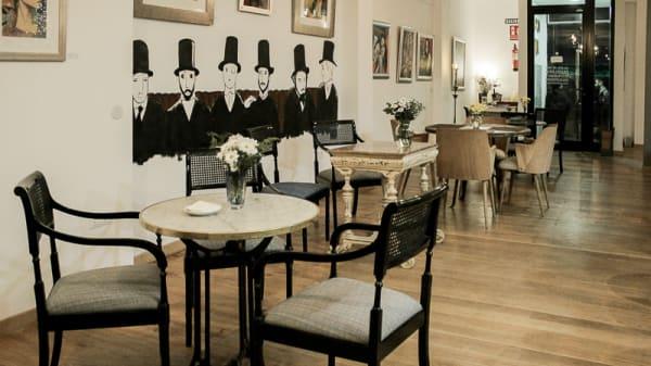 Vista sala - Café Pombo, Madrid