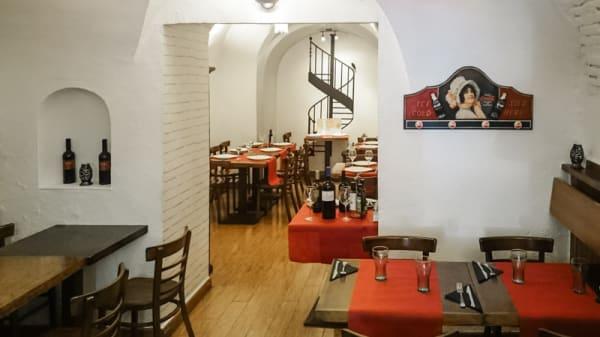 Vista interior - Montero's, Madrid