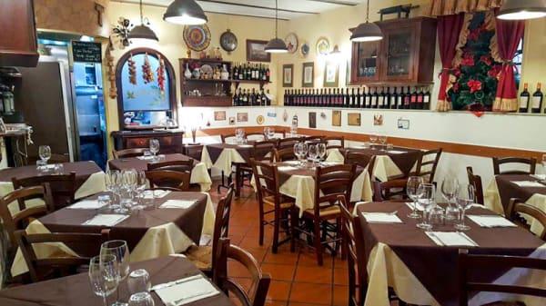 Vista sala - Trattoria Il Basilico Vomero, Napoli