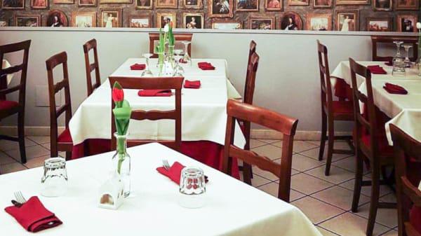 la sala grigia - La Piola del Forno, Turin