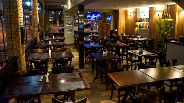 Sala - Siri Bar & Grill, São Paulo