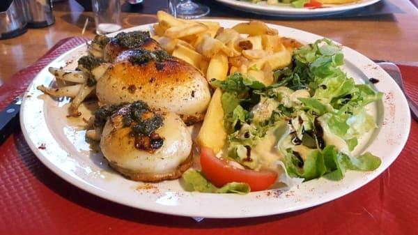 Suggestion de plat - Le Méditerranée, Saint-Cyprien