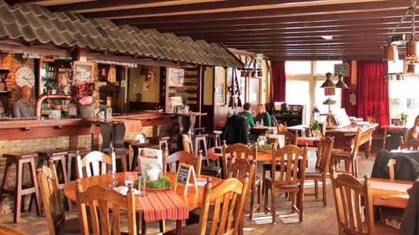 Het restaurant - 't Maoske, De Moer