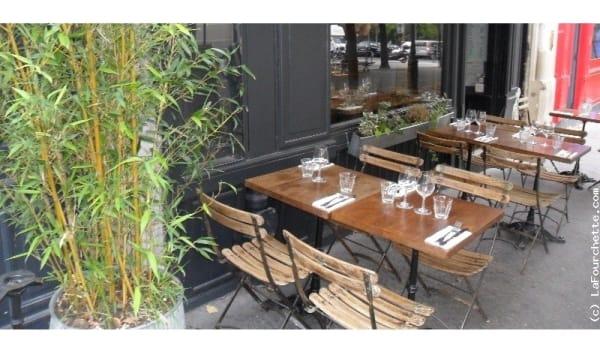 Zoom sur la terrasse - Le Tout Petit , Paris