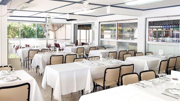 Interior Restaurante - El Avión, Castelldefels